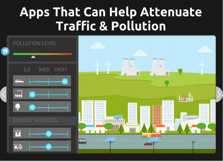 6 Popular apps that can help attenuate traffic & pollution