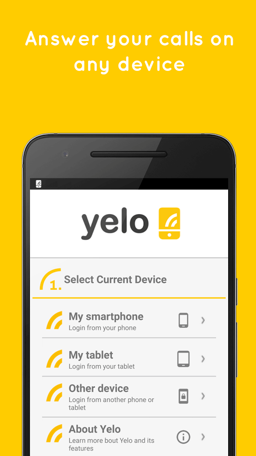 Yelo: Your Phone Everywhere