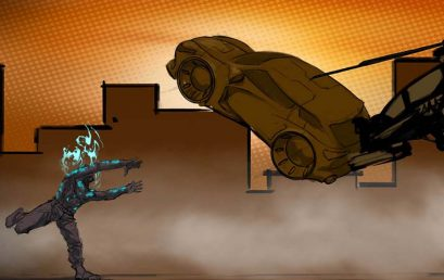 HellsPawn, super hero game with amazing post-apocalyptic graphics