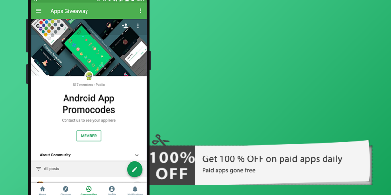 Apps Giveaway: Apps promo codes
