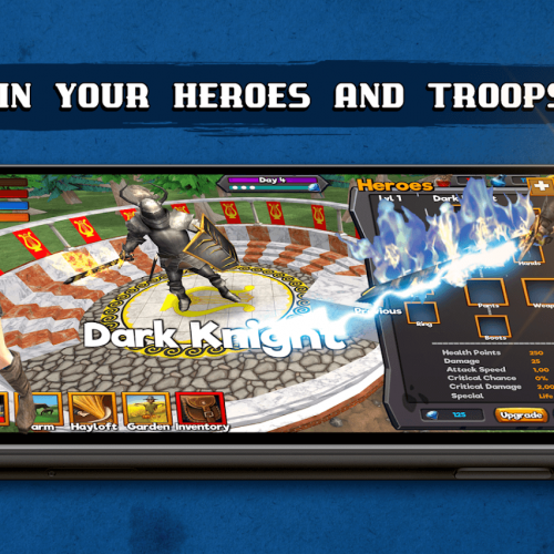 Grow Kingdom: Heroes and Monsters